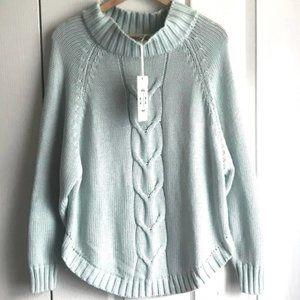 Nanette Lepore Light Blue Sweater NEW